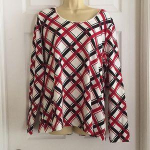 Kim Rogers Long Sleeve Top SIZE XL